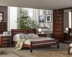 Кровать массив Икея Марсель (натуральное дерево)