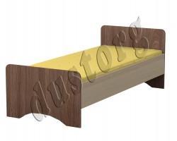 Детская мебель Алёшка Кровать односпальная -2  Шимо