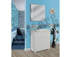 Мебель для ванной Ивонна (белая)