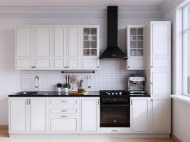 Модульная кухня Бланко (Белая)