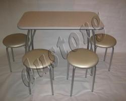 Стол и стулья для кухни Лотос