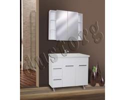 Комплект мебели в ванную Сомо 900