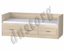 Кровать односпальная Кровать Гармония с 3 ящиками