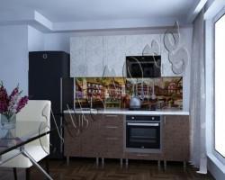 Скинали - Кухонная панель с фотопечатью 0014