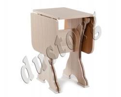 Кухонный стол СКР-2 (столешница термопластик)