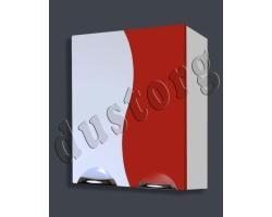 Шкаф навесной Кензо-2 550 красный