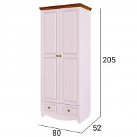 Шкаф для одежды Винтаж