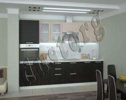 Модульная кухня Керри (венге/дуб)