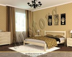 Кровать массив Дачная