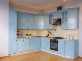 Модульная кухня Бланко (Синяя)