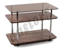 Журнальный столик стеклянный Юла