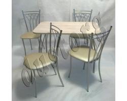 Стол и стулья для кухни Премьер
