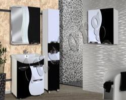 Мебель для ванной Кензо-3 600 (чёрный)