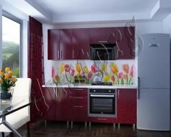 Скинали - Кухонная панель с фотопечатью 006