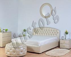 Кровать двуспальная Дансон (Mirta) экокожа