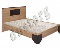 Кровать двуспальная Волжанка 3