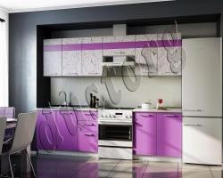 Кухонный гарнитур АРТ Фиолет