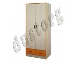 Детская мебель Скейт-3 Шкаф для одежды (Манго)