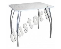 Кухонный стол с металическими ногами 800 х 590 Ойбер