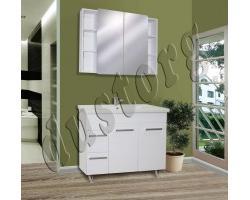Комплект мебели в ванную Сомо 1000