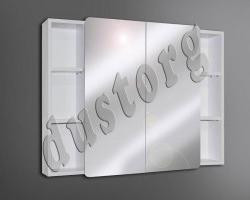 Шкаф зеркальный Сомо 900