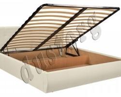Кровать НЕЛЛИ с мягким изголовьем и подъемным механизмом