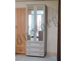 Шкаф для одежды и белья двухстворчатый