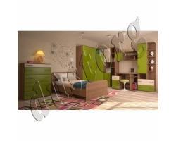 Детская мебель Дебют Багис 2 (олива)