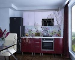 Скинали - Кухонная панель с фотопечатью 0011