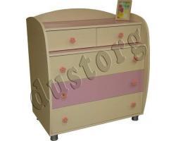 Детская мебель для девочки Настя Комод