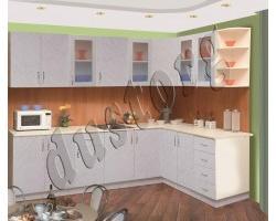 Модульная кухня гарнитур Пластик Альфа
