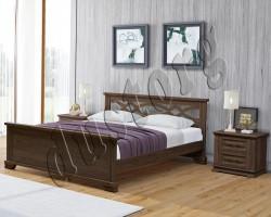 Кровать массив Икея Ливерпуль (натуральное дерево)