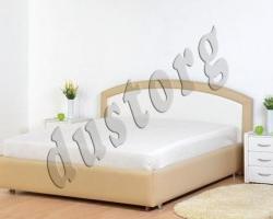 Кровать двуспальная Люсиль экокожа.