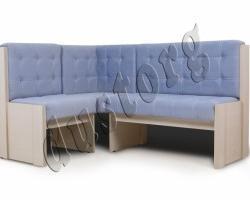Угловая скамья КВАДРО диван для кухни