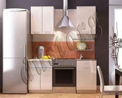Кухонный гарнитур Белый дым (1м)