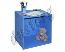 Детская мебель Скейт-5 Секция квадратная Синий/Манго/Лайм