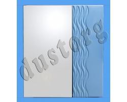 Шкаф зеркальный Аква Ажур (цвета разные)