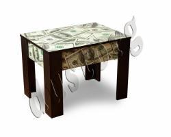 Журнальный столик Чайный с цветной печатью
