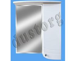 Шкаф зеркальный Аква Федерико 600, белый