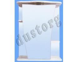 Шкаф зеркальный Аква Примула 550 белый