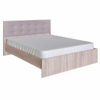 Кровать София Кальпе (Латте) под ортопед с мягким элементом