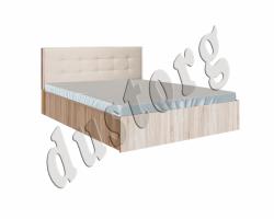 Кровать София с мягким изголовьем под матрас 1.4 х 2.0 с ортопедом