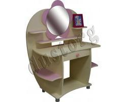 Детская мебель для девочки Настя Столик туалетный-письменный