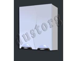 Шкаф навесной Кензо-2 550 белый