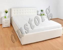 Кровать двуспальная Симфония экокожа.